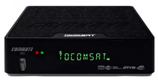 Receptor Tocomsat Combate S - HD IPTV On Demand H265 wifi