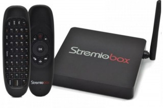 Receptor Stremiobox Ultra HD - 4K - Android - F.T.A