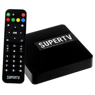 Receptor SuperTV IPTV - Android - Full HD - F.T.A