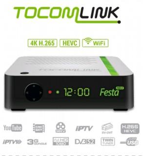 Receptor Tocomlink Festa HD 3 - Full HD