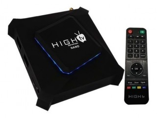 Receptor High TV Nano 4K/Iptv/Wifi