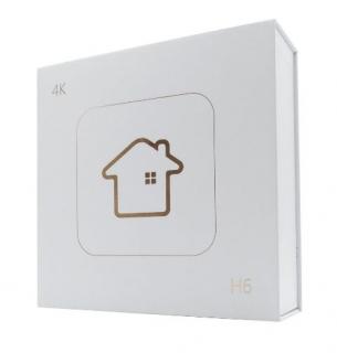 Htv 6 plusTv Box 4K Android Wi-Fi + Controle Adicional