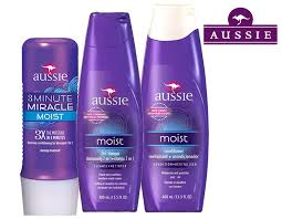 KIT AUSSIE MOIST shampoo 400ml + Mascara 236ml + Condicionador 400ml