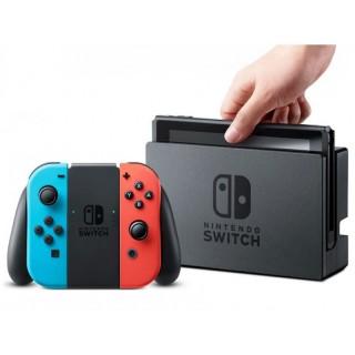 Nintendo Switch 32GB Standard cor vermelho-néon e preto